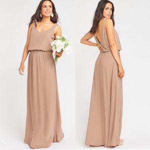 Show Me Your Mumu Kendall Dune Maxi Dress Gown
